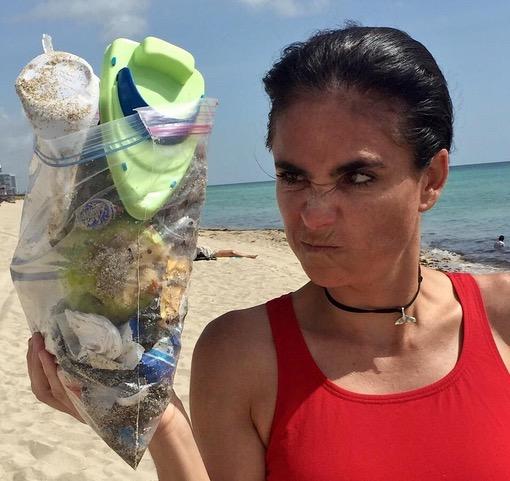 Limpieza de playas-playas-del-caribe-karla-munguia