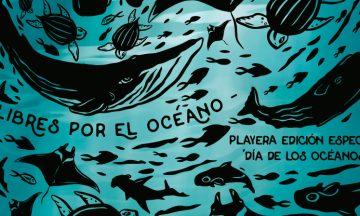 """Playera """"Día de los Océanos"""""""