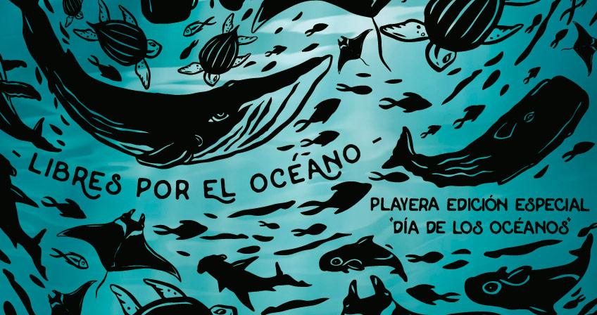 playera dia de los oceanos