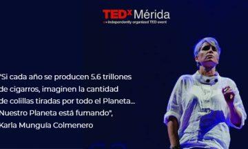 Nuestro Planeta está fumando – TEDxMérida